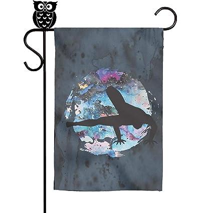 Amazon.com: Kaiui Aidof Decorative Garden Flags women ...