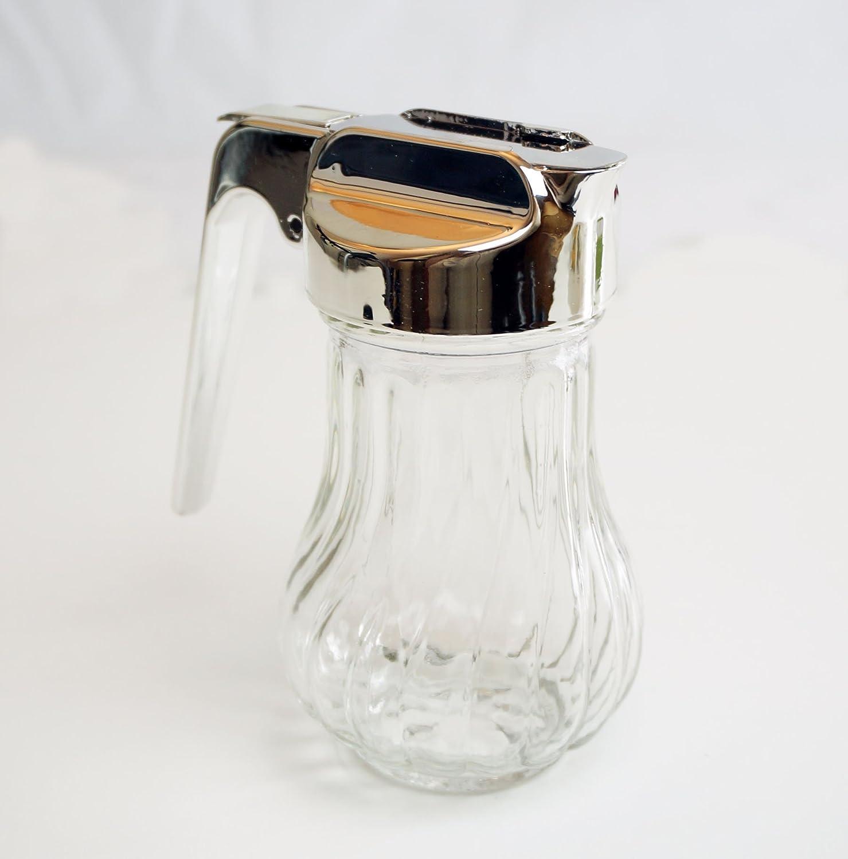 Dispensador de jarabe de miel - Equipo de tarro tapa de plástico dispensador de leche condensada: Amazon.es: Hogar