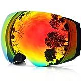 71%2BWK5qmeiL. SL500 SR160,160  - Black Ski Goggles