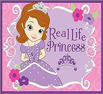 Disney Junior Sofia The First Tirar Alfombra La Vida Real Princesa Niñas Decoración De Las Habitaciones Alfombras De área De Ropa De Cama 40 X54 Rosa Furniture Decor
