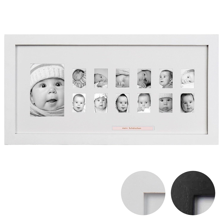 Amazon.de: Jago Bilderrahmen in Schwarz oder Weiß für 1 großes und ...