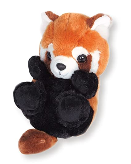Amazon Com Sanei Squeaky Animal Stuffed Plush Red Panda Stuffed
