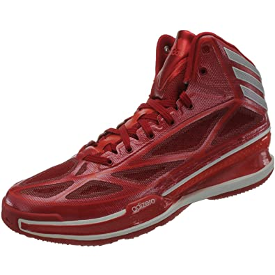 b6d677a857a1 adidas Adizero Crazy Light 3 G66516 Mens Basketball Shoes Basketball Boots  Red 8.5 UK  Amazon.co.uk  Shoes   Bags