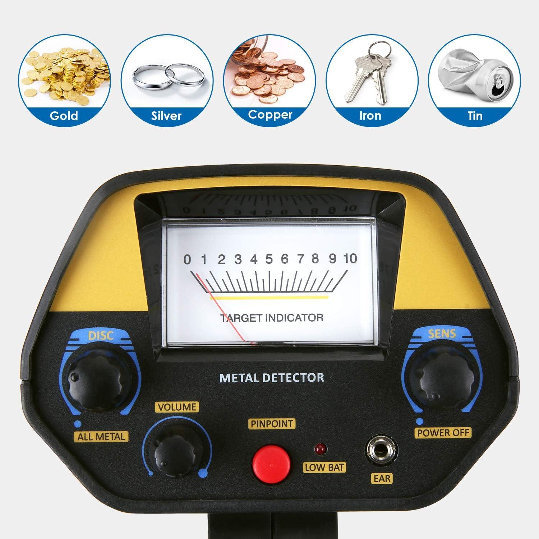Amazon.com: INTEY detector de metales: sensibilidad y ...