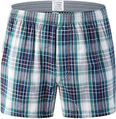 Men/'s Cotton Loose Soft Underpants High Waist Cozy Boxer Briefs Shorts Underwear