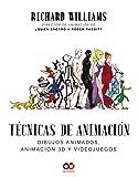 Técnicas de animación. Dibujos animados, animación 3D y videojuegos (Espacio De Diseño)