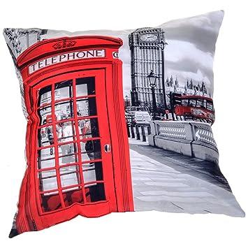 Londres coussinlondre - Cojín con diseño de Londres y cabina ...
