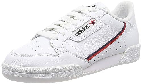 on sale 30dde c49fd adidas Continental 80, Scarpe da Fitness Uomo, Bianco (Ftwbla Escarl Maruni