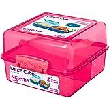 Sistema - Merendera, diseño cuadrado, color rosa