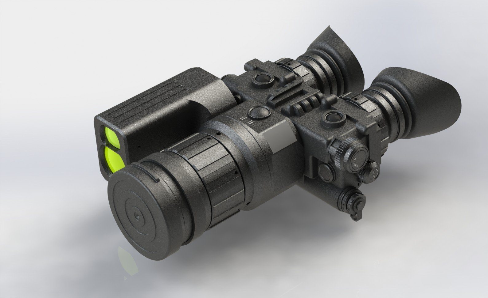 Luna Optics Thermal Binocular 3.5-14x with Laser