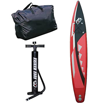 Aqua Marina Uni Race Sup, Rojo/Negro, One Size: Amazon.es: Deportes y aire libre