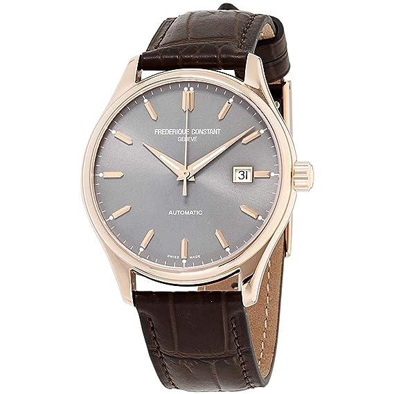 Frederique Constant Classic Reloj de hombre automático 40mm FC-303LGR5B4: Amazon.es: Relojes