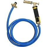 Turbo Torch Welded Gas Pipeline Welding Tool Plumbing Propane Hose Soldering Brazing Torch