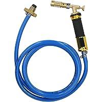 Manguera de propano duradera resistente a alta presión ajustable Soplete de soldadura Soplete turbo para calefacción…