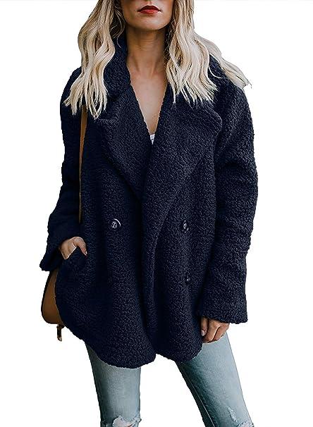 Abrigos de otoño Invierno Jersey Chaqueta cálido Top Coat Casual de Las Mujeres de Invierno Outwear Parkas Outwear Abrigo para Mujer: Amazon.es: Ropa y ...