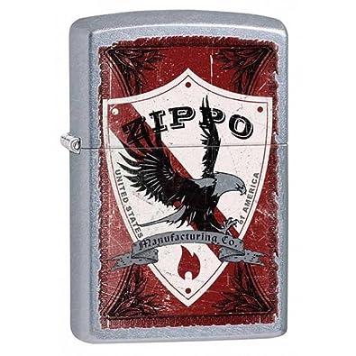 Shield calle cromo Zippo encendedor de interior y exterior para resistente al viento libre personalizadas personalizado grabado mensaje permanente vida ...