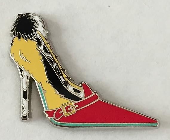 53dbfe13d94 Disney Pin 97737 Villain Shoes - Cruella De Vil Pin 101 Dalmatians ...