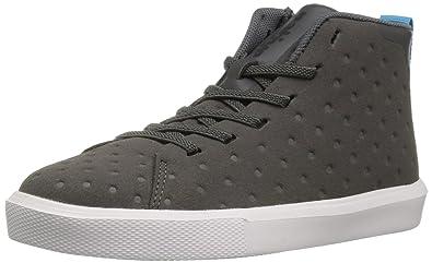 0c1b6a24cc25 Native Shoes Baby Monaco Mid Child Sneaker Dblgry Shlwht 6 M US Toddler