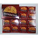 Frankincense - Case of 12 Boxes, 10 Cones Each - HEM Incense From India