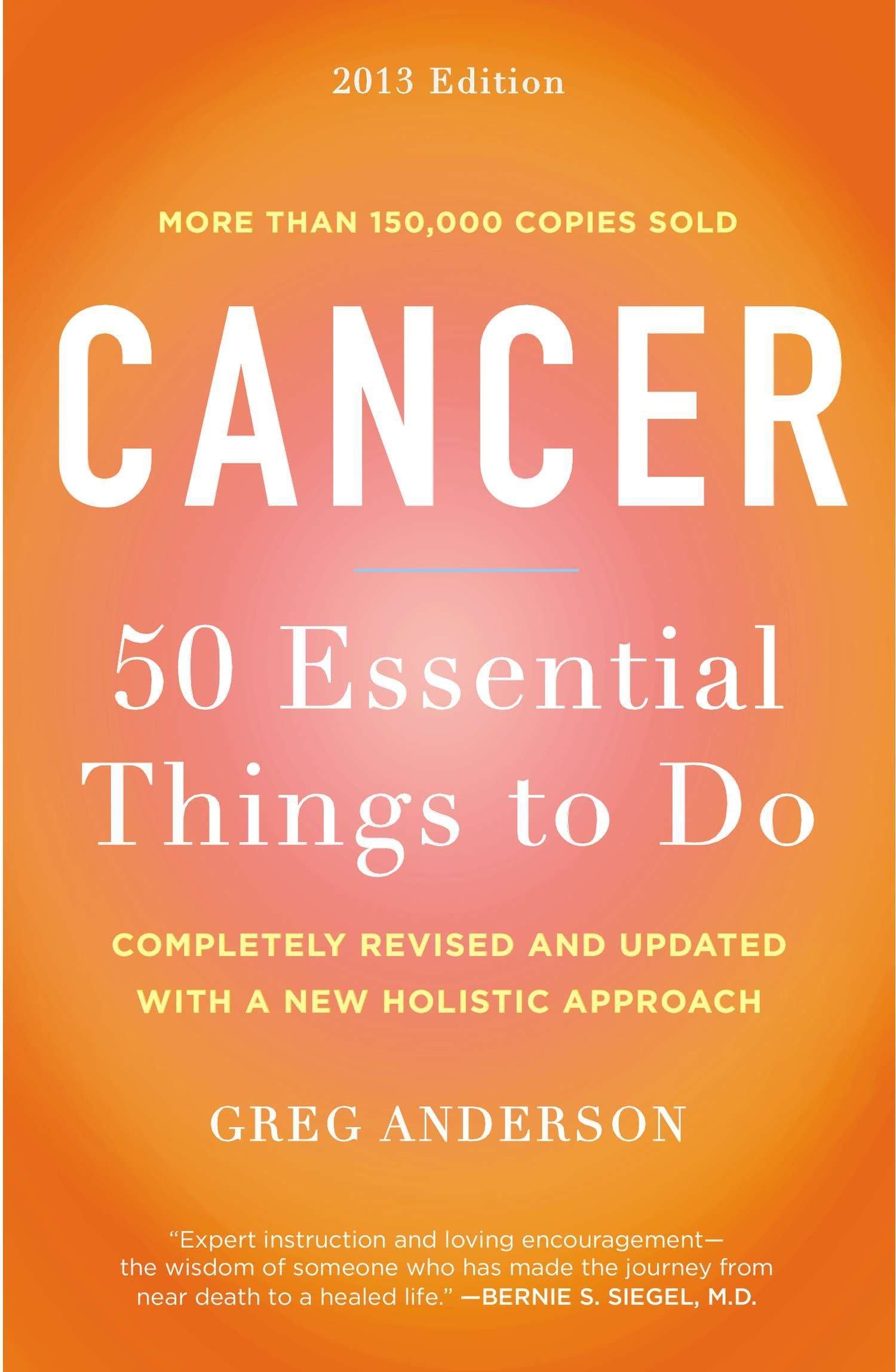 Download Cancer: 50 Essential Things to Do: 2013 Edition pdf
