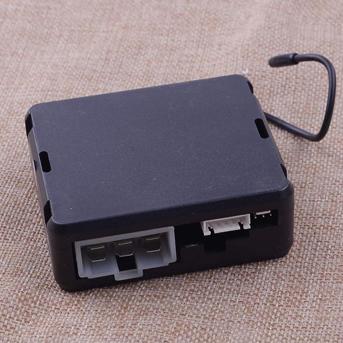 Citall 9 Stück 12v Auto Pke Passive Keyless Entry Push Button Remote Starter Engine Start Stop Alarm System Set Auto