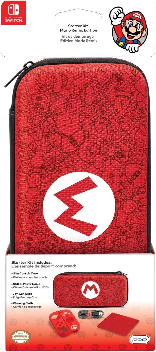 PDP - Starter Kit Edición Mario Remix (Nintendo Switch): Amazon.es ...