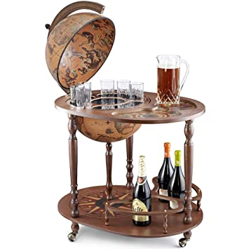 Fantastic Zoffoli Art 44 4 Bar Globe Drinks Cabinet With Certificate Of Authenticity Home Interior And Landscaping Eliaenasavecom