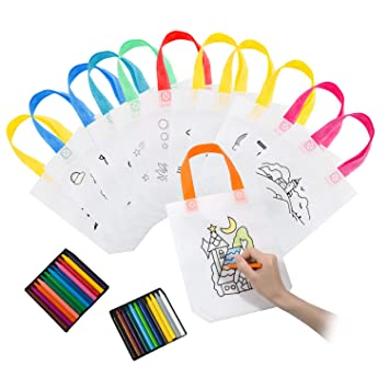 Joeyer DIY Graffiti Bolsas Infantiles para Colorear Ideal ...