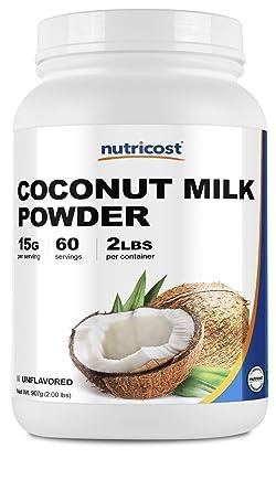 Nutricost Leche de Coco en Polvo: Amazon.com: Grocery ...