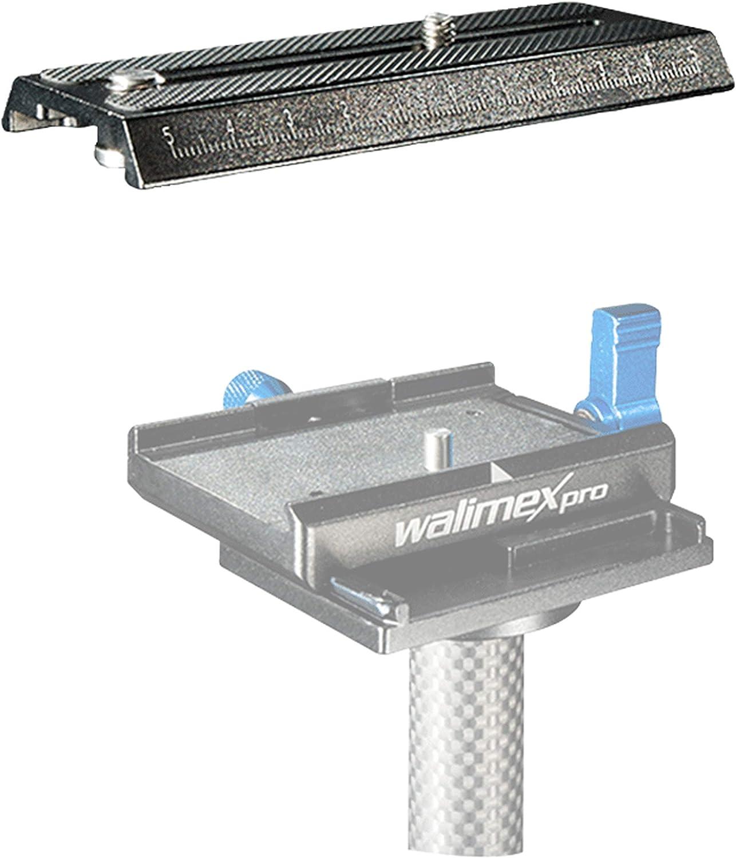 100x50x11 mm 1//4 Zoll Anschluss Schnellwechsel Kameraplatte f/ür Walimex pro StabyPod XS Walimex pro Schnellwechselplatte f/ür StabyPod XS Schwebestativ