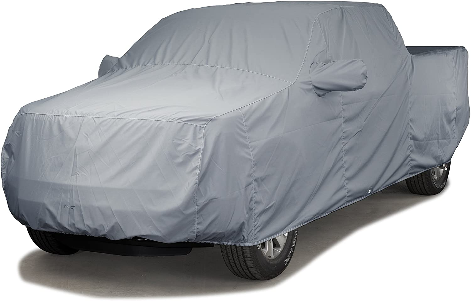 Covercraft Custom Fit Car Cover for Chevrolet Pickup Truck - WeatherShield HP Fabric (Gray)