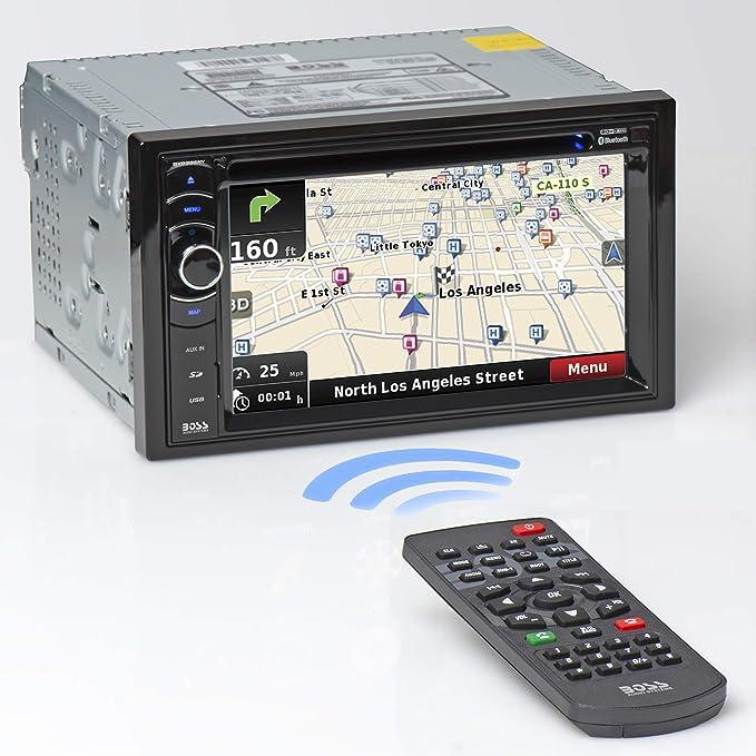Boss Audio Systems BV9386NV 340W Bluetooth Negro Receptor Multimedia para Coche - Radio para Coche (