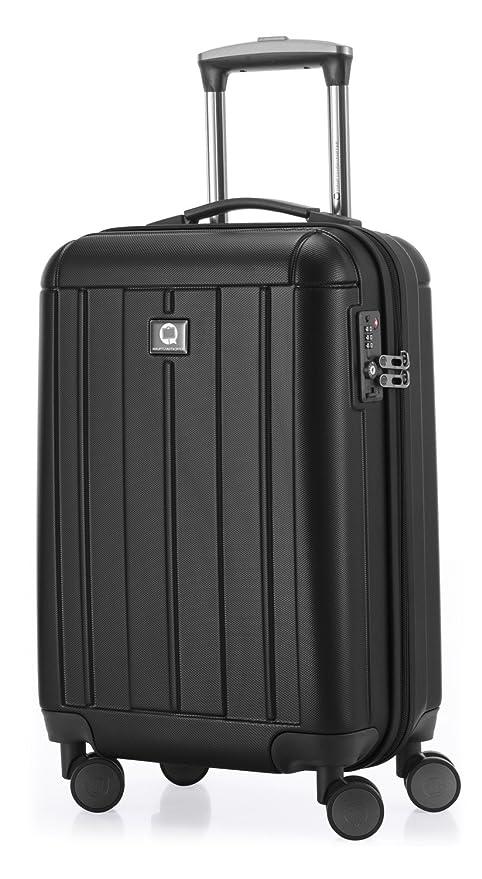 a4bb2b4cae60 HAUPTSTADTKOFFER - Kotti - Hand Luggage On-Board Suitcase Cabin Bag  Hardside Spinner Trolley 4 Wheel