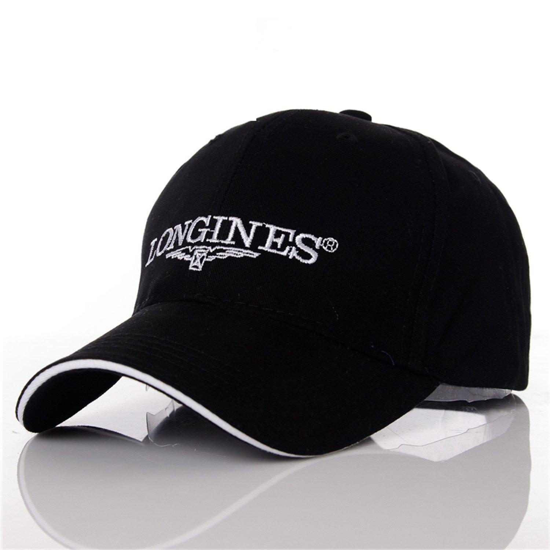 335799d0f02 Amazon.com  Donna Pierce Stylish Men s Baseball Cap Women Snapback Caps  Brand Casquette Bone Sun Hats For Men Women hat Gorras Chapeau 4 colors  Black  ...