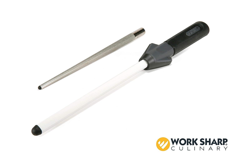 Amazon com work sharp culinary m3 manual kitchen knife sharpener kitchen dining