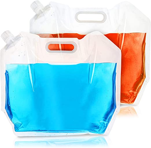 Bottle 5L Portable Water Bucket Container Storage for Outdoor Travel Camping Hik
