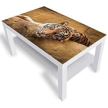Dekoglas Ikea Lack Beistelltisch Couchtisch Hübscher Tiger