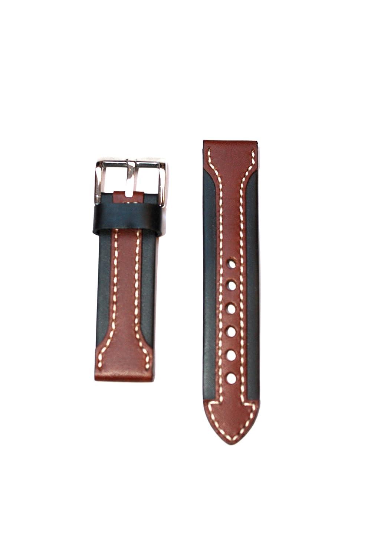 ブラウンDouble Arrow Panerai Style No Taper 22 mm  B004PLIKWA