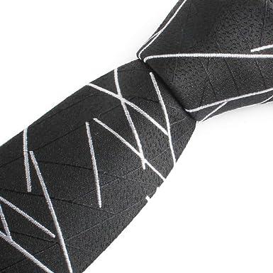 Chris Vu - Corbata de seda, diseño moderno con finas líneas ...