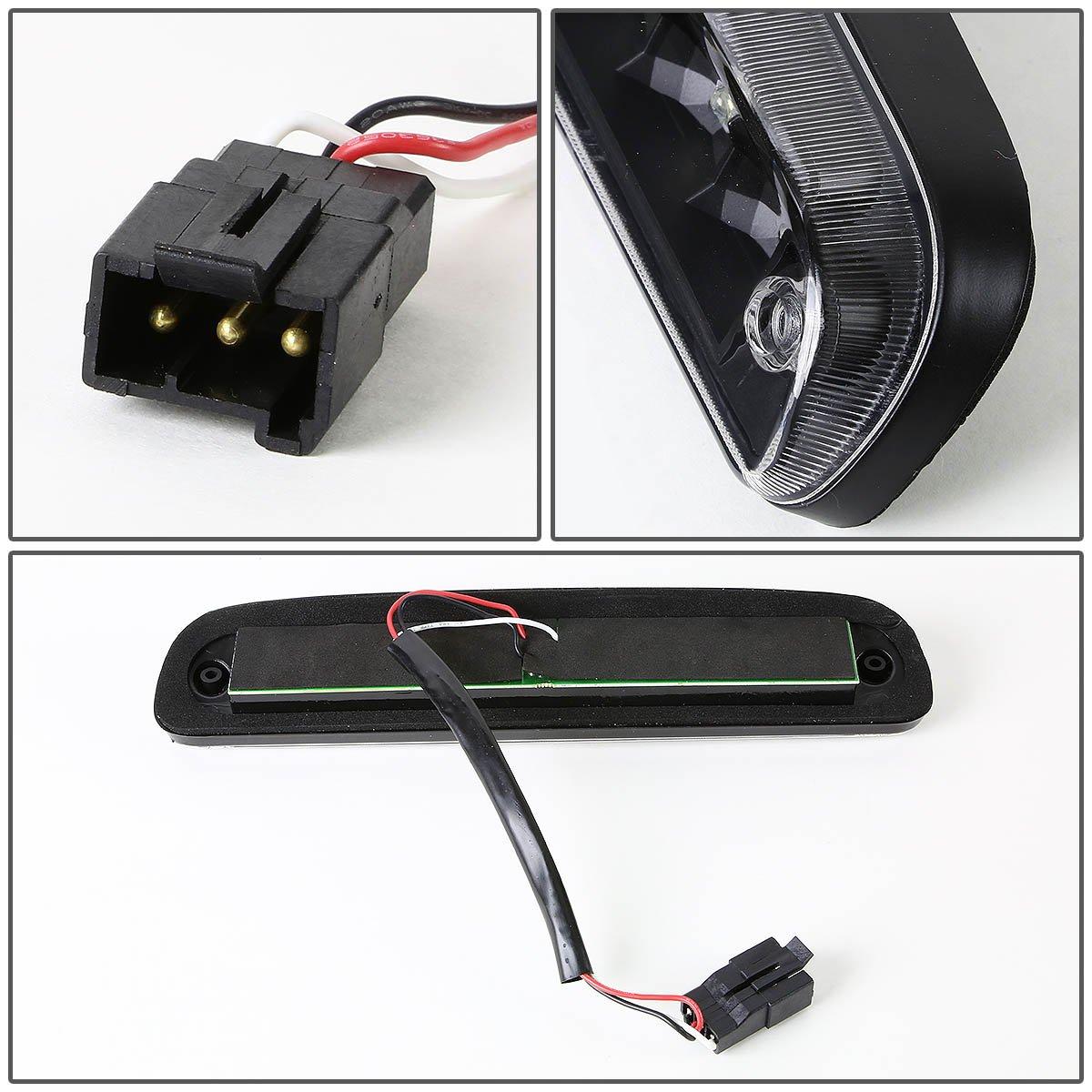 DNA Motoring 3BL-FSPRAN99-LED-BK Third Brake Light