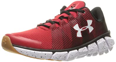6bc8d4a3e Under Armour Men's Grade School X Level Scramjet Sneaker, Red (600)/Black