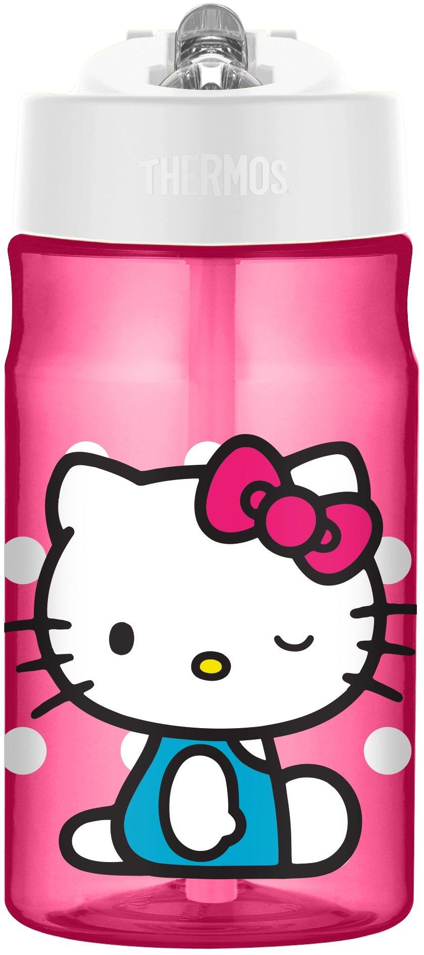 Thermos 12 Ounce Tritan Hydration Bottle Hello Kitty
