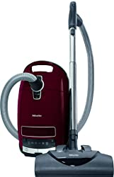 Miele Complete C3 Vacuum for Soft Carpet-Corded, Tayberry Red