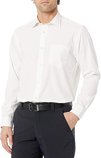 GREG NORMAN L/S Solid Sport Camisa de Manga Larga para Hombre ...