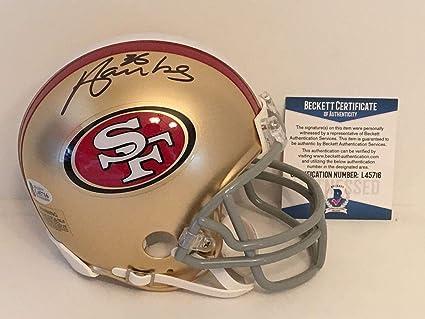 16acdd889d9 Merton Hanks Signed Mini Helmet - BAS Beckett L45716 - Beckett  Authentication - Autographed NFL Mini
