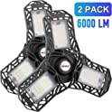 2-Pack Mofut LED Garage Lights
