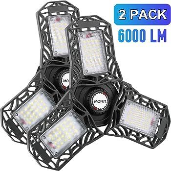 2-Pack Mofut LED Garage Lights