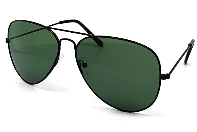 59d47c61ca6 O2 Eyewear 215 Premium XL Oversized Flat Top Aviator Sunglass Womens Mens  (XL