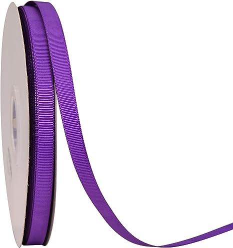 "40 yds 3//8/"" Pink /& Purple Dots /& Solids Grosgrain Ribbon Lot"