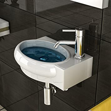 Bad1a Keramik Handwaschbecken/Waschtische / Gäste WC/Waschbecken Für Ihr  Modernes Badezimmer/Badezimmer